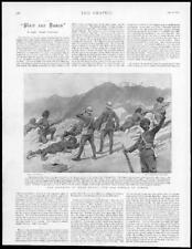 1895 - Antique Print INDIA Khar Kotal 27th Dogras Action Sikhs Military  (207)