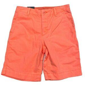 NWT GAP Boys Khaki Shorts 6-7-8-9-10-12-14-16 Green Camo Pink Green Gray Orange
