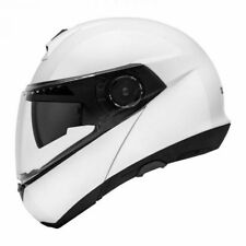 Schuberth C4 Gloss White Flip Up Motorcycle Motorbike Helmet
