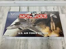 Monopoly U.S. Air Force Edition Board Game Parker Brothers 2003 New Sealed Rare!
