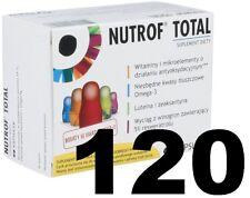 Nutrof Total 2x60 caps VITAMIN D3  comfortable vision, lutinea, Omega-3 Vitamine