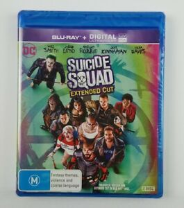 Suicide Squad (Blu-Ray, 2016 , 2-Disc)