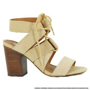 Steve Madden Emalena Open Toe Block Heels Women Size 9