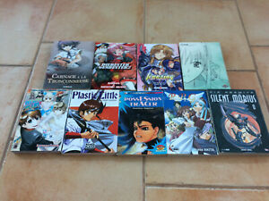 Lot de 9 Mangas Shonen / Seinen One shot