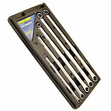 5pc Metric Extra Long Double Ring Spanner Aviation Spanner Wrench 8mm-19mm TE5