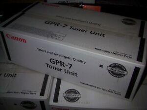 Canon GPR-7 Toner (36000 Yield) (2/PK) - 14605, Yield; OEM NEW! Free Shipping