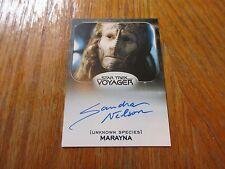 2017 Star Trek 50th Anniversary Sandra Nelson as Marayna Autograph