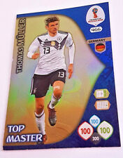 Panini ADRENALYN WM 2018 Russia TOP MASTER THOMAS MÜLLER neu
