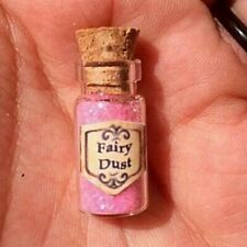 Trinket TINY Fairy Dust Miniature Glass Bottle Kids Party Favour Gift