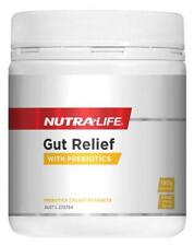 New NUTRALIFE Gut Relief With Prebiotics 180g Powder Indigestion Support