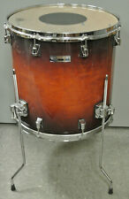 "ADD this TAYE STUDIO MAPLE 16"" FLOOR TOM in JAVA BURST to YOUR DRUM SET! #K145"