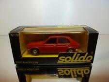 SOLIDO 76 SIMCA HORIZON - RED 1:43 - VERY GOOD CONDITION IN BOX