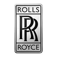 Rolls Royce 3D autocollant logo 3d étiquettes 4 cm Free UK POST x2 PC