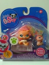 LPS LITTLEST PET SHOP Collector Pets Hamster #1947 and Cat #1948 NEW