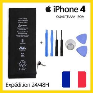 BATTERIE ORIGINALE INTERNE POUR IPHONE 4 NEUVE + OUTILS + PENTALOBE