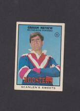 Scanlens 1968 Season NRL & Rugby League Trading Cards