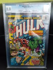 Incredible Hulk #172 CGC 9.8 White Pages - Juggernaut v. Hulk X-Men Cameo