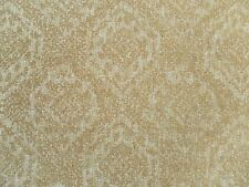 Sanderson Curtain / Upholstery Fabric SAVARY 0.85m Honey - Textured Damask Weave