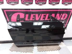 2013-2014 Ford Mustang Coupe OEM RH Right Passenger Door Assembly Black DAMAGED
