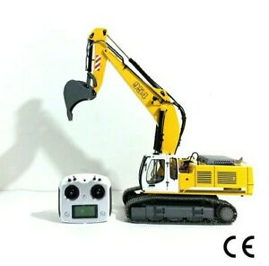 BIG! RC Fully Hydraulic, Fully Metal Ready-To-Run Excavator 1/12