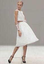 NWT$484.00 Alexis Neiman Marcus Intermix LILY Lace Tulle Ballerina Skirt sz.M