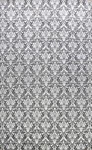 Vegetable Dye Wool/ Silk Charcoal Silver Handmade Versace Oriental Area Rug 9x12
