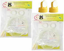 4 Tubing, 2 Valves and 2 Membranes for Medela Pump In Style Advanced Breastpump