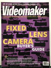 Videomaker Fixed Lens Camera Buyer's Guide November 2015 Free Shipping Jb