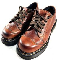 DR MARTENS DM'S AIR WAIR 8651 LEATHER OXFORD MADE IN ENGLAND WOMENS SIZE US 6