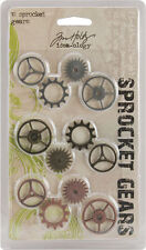 Tim Holtz® Idea-ology® Sprocket Gears TH92691 NEW