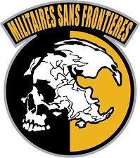 Metal Gear Solid Peace Walker decal sticker MGS 4inch FREE SHIP