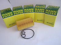 5 Stück MANN ÖLFILTER HU7010Z MERCEDES-BENZ W212 S212 W246 W204 S204 W176 W639