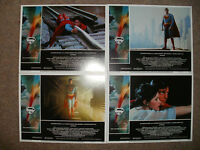 """""""SUPERMAN THE MOVIE"""" - Full Set of 8 Lobby Cards - NEW & SEALED"""
