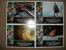"""SUPERMAN THE MOVIE"" - Full Set of 8 Lobby Cards - NEW & SEALED"