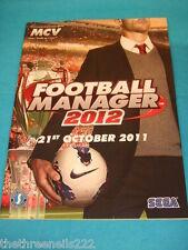 MCV MAGAZINE - SEGA FOOTBALL MANAGER 2012 - OCT 7 2011
