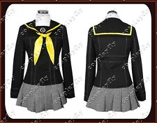 Persona 4 Yasogami High Girls Uniform Cosplay Costume Custom Size With Bow-tie