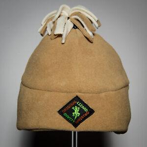 Andean Fleece Outdoor Hat - Caramel colour