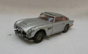 Vintage Corgi Toys James Bond 007 Aston Martin DB5 Car - Made In Gt Britain