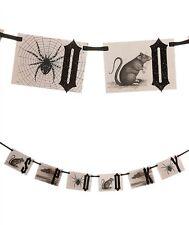 "Bethany Lowe Designs ""Spooky Halloween Garland"" LO9430 - Nice!!"
