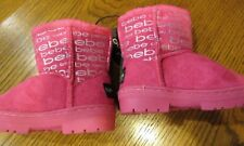 NWT BEBE PINK with FLEECE LINING WINTER FASHION BOOTS INFANT GIRL SIZE 7