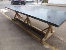 Grande table industrielle dessus fer table de salle à manger cuisine design loft