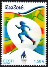 ESTONIA 2016-14 Sport: Summer Olympic Games, Rio de Janeiro. Light Athletics MNH