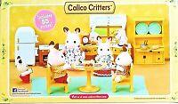 Calico Critters of Cloverleaf Corners Kitchen Set, BNIB  EPOCH 55 Pcs. PLS. READ