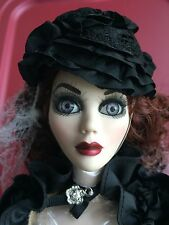"Tonner Wilde Imagination 18.5"" Dark Glamour Evangeline Ghastly Doll LE350 No Box"