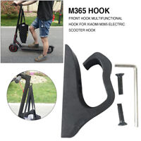 FJ- Electric Scooter Front Hook Helmet Bag Hanger for Xiaomi Mijia M365 M187 Pro