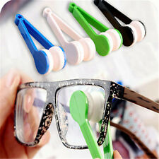 Mini Soft Eye Glasses Lens Cleaning Cleaner Wipe Spectacles Eyeglass Eyewear GZ^