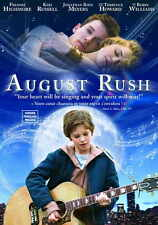 AUGUST RUSH Movie POSTER 27x40 I Freddie Highmore Keri Russell Jonathan Rhys