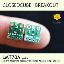 ClosedCube LMT70A ±0.05°C Matching Accuracy Precision Analog Temp Sensor Pair
