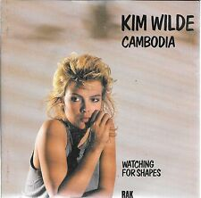 "45 TOURS / 7""SINGLE--KIM WILDE--CAMBODIA / WATCHING FOR SHAPES--1982"