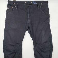 G-Star W36 L30 schwarz Herren Jeans Designer Denim Retro Hose Vintage Mode Chic